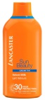 Lancaster voordeelflacon Zonnebrand Sun Beauty Velvet Milk Body SPF30 400ml