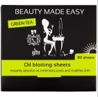 Beauty Made Easy Oil Blotting Green Tea 80st