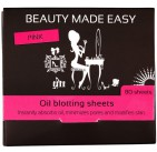 Beauty Made Easy Oil Blotting Pink 80st