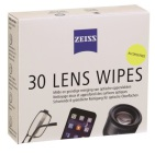 ZEISS  Lens Wipes Alcoholvrij 30 wipes