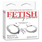 Fetish Fantasy Beginners Metal Cuffs 1st