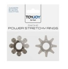 ToyJoy Power Stretchy Rings Smoke 2st