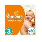 Pampers Sleep & Play Midi 3 50st
