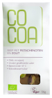 CoCoa Reep Chocolade Pistache Zout Raw 50gr