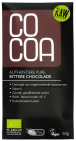 CoCoa Reep Raw Chocolade Puur Authenthiek Bitter 50gr