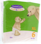Sweetcare Luiers Soft & Easy XL nr 6 16+ kg 21st