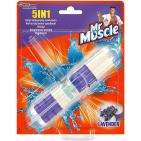 Mr Muscle 5 in 1 toiletblok lavendel 41g