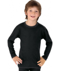 Best4body Verbandshirt kind zwart lange mouw 152 152