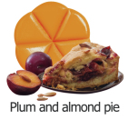 creations Geurchips plum and almond pie 10 stuks