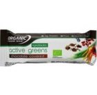Organic Food Bar active greens chocolade c protein 75g