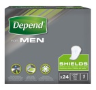 Depend Shields Light For Men 24 stuks