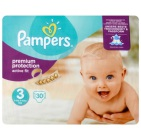 Pampers Active fit midpack S3  30 stuks