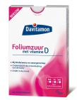 Davitamon Foliumzuur Met Vitamine D 84 tabletten
