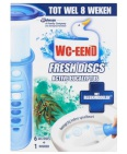 Wc Eend Fresh Disk Houder Eucalyptus 36ml