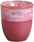 Bolsius Geurglas ovaal limited love in the air 1 stuk