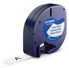 Corporate Expres Dymo letratag labeltape wit 12 mm x 4 m 1 Stuk