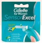 Gillette for Women Sensor Excel Scheermesjes 5 stuks
