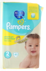 Pampers Luiers New baby mini 2 Midpack 41 stuks