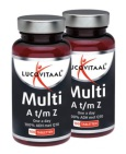 Lucovitaal Multivitamines A t/m Z+Q10 2x100 tabletten