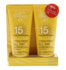 Louis Widmer Zonnebrand All Day SPF15 Duo Ongeparfumeerd 200ml