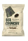 Sea Crunchy Nori Zeewier Snacks Teriyaki 10g