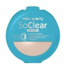 Miss Sporty Face Powder So Clear Transparent 1 stuk