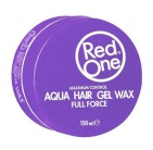 Red One Aqua Hair Gel Wax Violetta 150ml