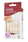Kiss Everlasting French Toenail  24 stuks