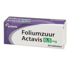 Actavis Foliumzuur 0.5 mg 30 tabletten