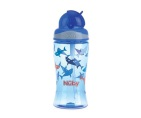 Nuby Tritan Flip It Beker Blauw 360ml