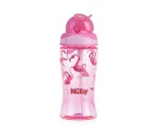 Nuby Tritan Flip It Beker Roze 360ml