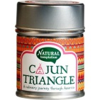 nat temptation Cajun triangle blikje natural spices 40g