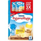 Nestle Pyjamapapje banaan 250 ml 3x250