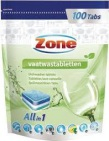Zone Vaatwastablet all-in-one 100st