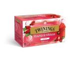 Twinings Thee Rozenbottel & Hibiscus 25st