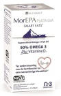 Minami MorEPA Platinum Omega 3 plus vitamine D3 60 softgels