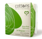 Cottons Maandverband Ultradun Regular 14 stuks