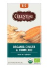 Celestial Seasonings Organic Thee Ginger & Turmeric 20 stuks