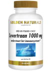 Golden Naturals Levertraan 1000mg 90 softgel capsules