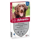 Advantix Hond 400/2000 Spot-on Solution 4st