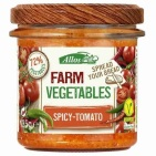 Allos Farm vegetables pittige tomaat 135g
