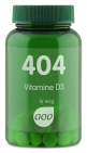 AOV 404 Vitamine D3 15 mcg 60 tabletten