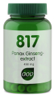 AOV 817 Panax Ginseng-extract 450mg 60 capsules
