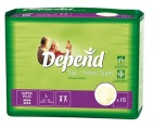 Depend Flex super + L 14st