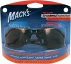 Macks Shooting safety glass smoke 1st