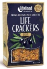 Lifefood Life crackers olijf 90g