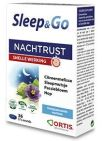 Ortis Sleep&Go Nachtrust 36 tabletten