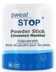 sweatstop Powder cinnamon menthol stick for feet 60g