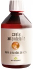 Jacob Hooy Amandelolie zoet 250ml