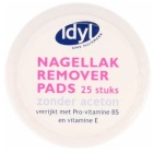 Idyl Nagellak Remover Pads 25st